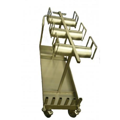 Chariot inox de transport